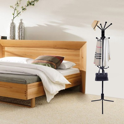 LASUAVY coat racks,Hook Free Standing Coat and Hat Rack for Garage Foyer Office Closet